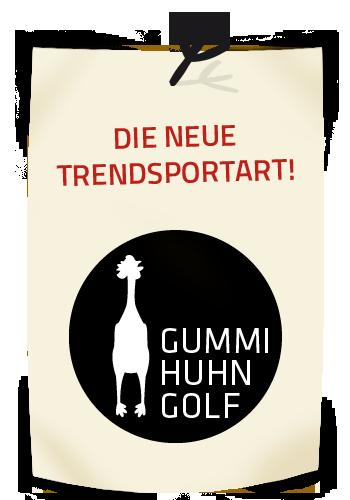 Gummihuhngolf Logo
